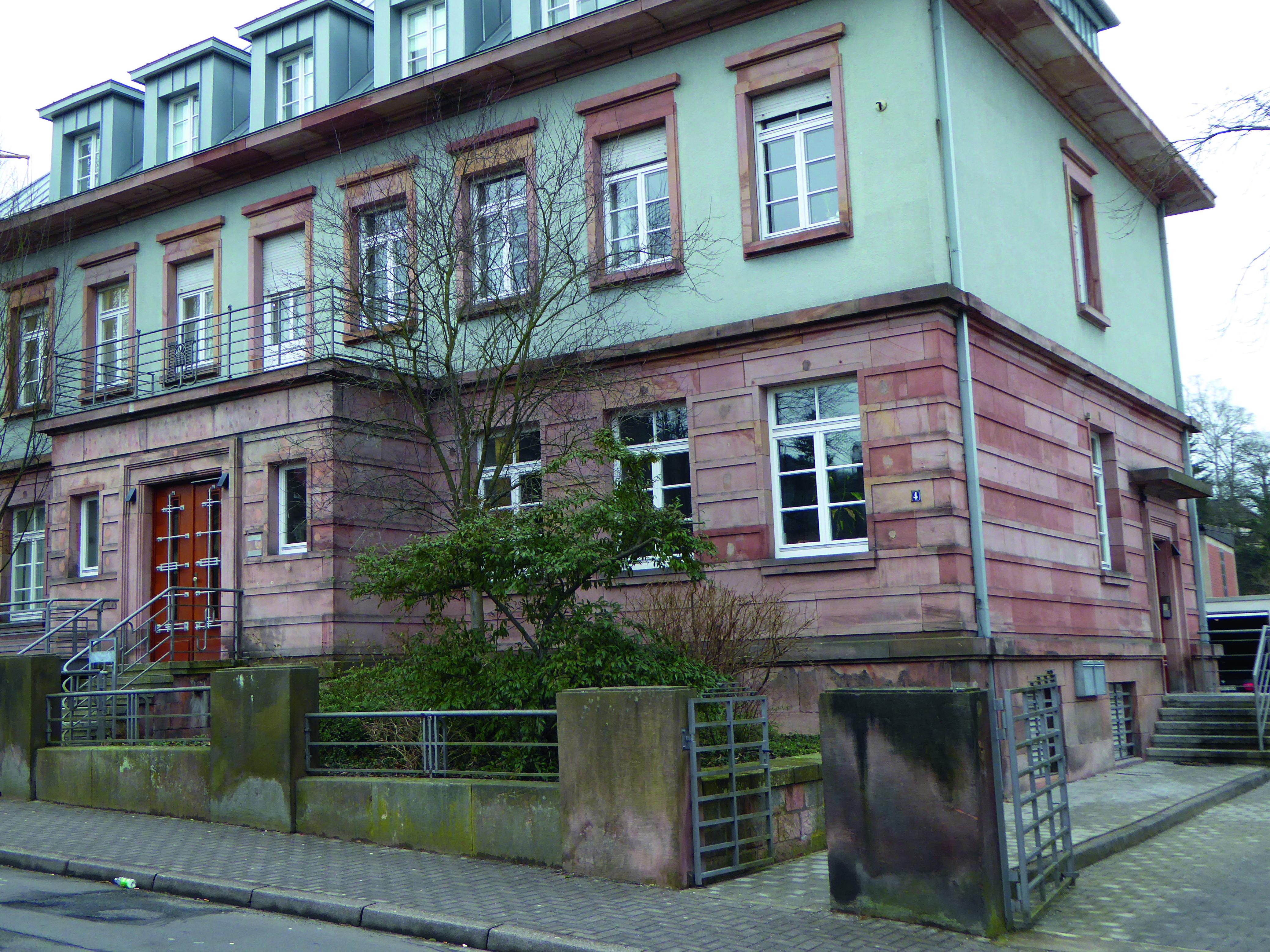 Die Geschäftsstelle des Ökumenischen Gemeinschafstwerk Pfalz
